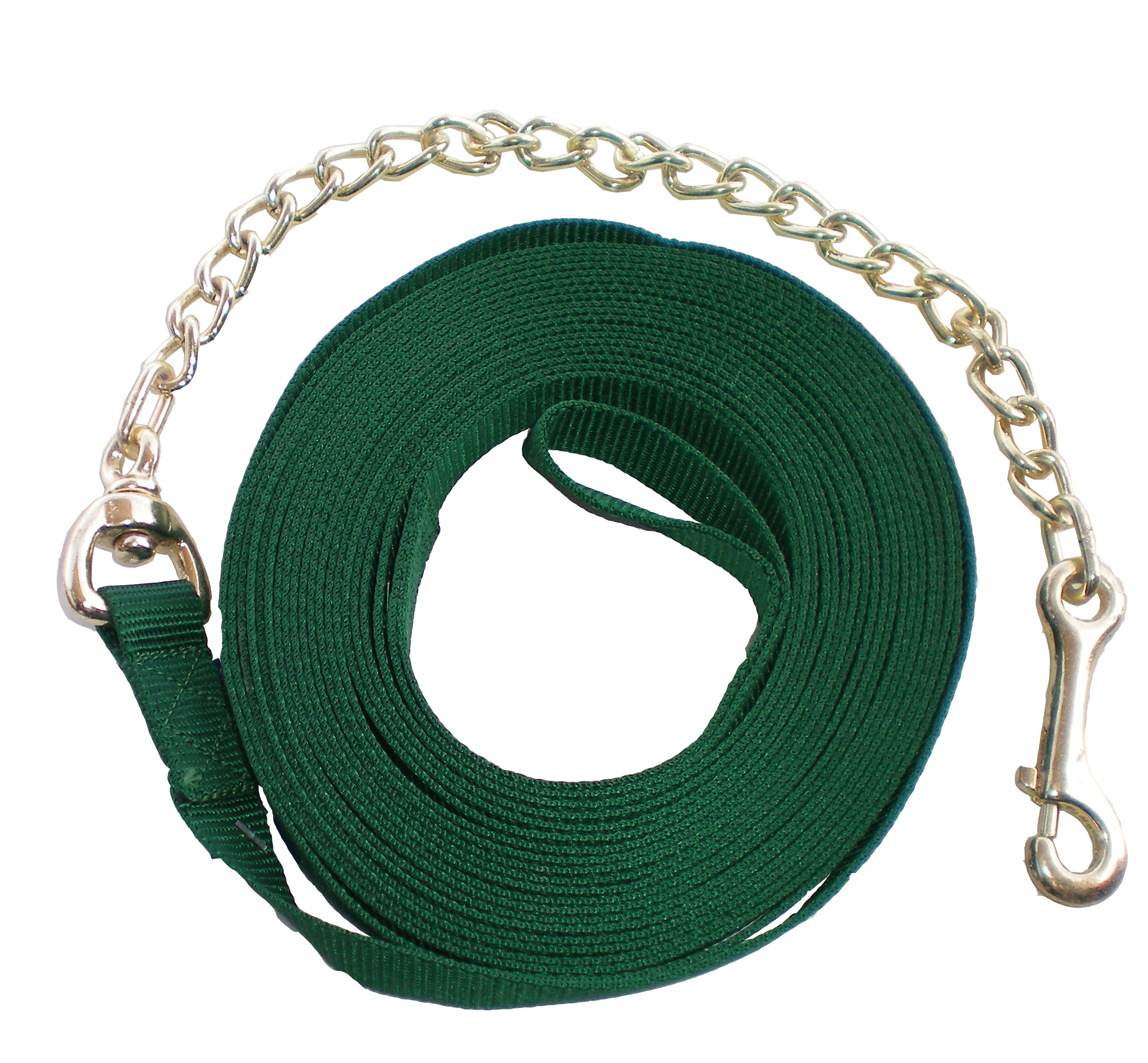 Nylon Lunge Line With Chain