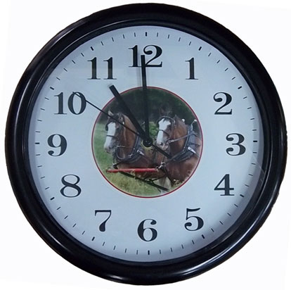 Clydesdale Wall Clock