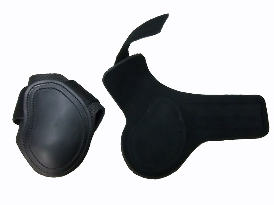 Leather Ankle Pad W/Velcro