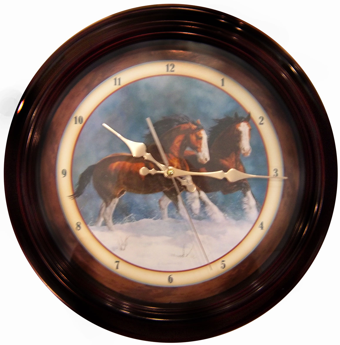 Clydesdale Clock