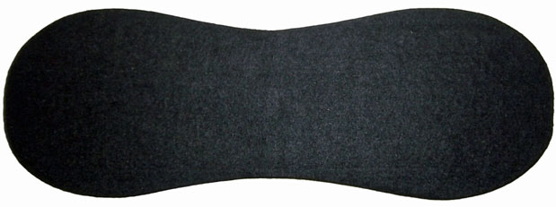 Back band Felt Pad