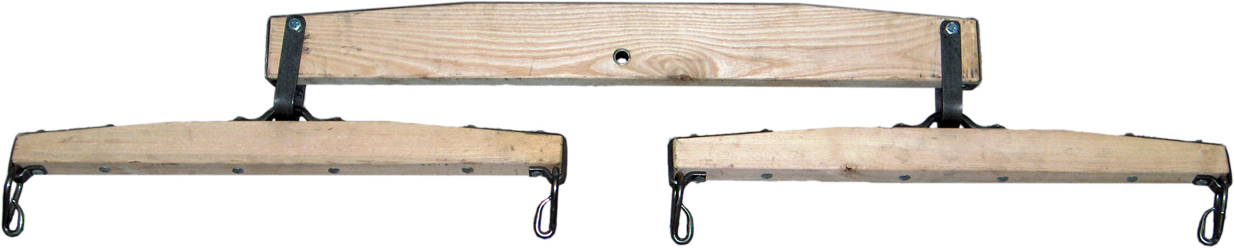 Draft Wooden Double Tree Square End
