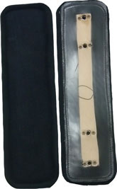 Leather w/felt Back Band Pad